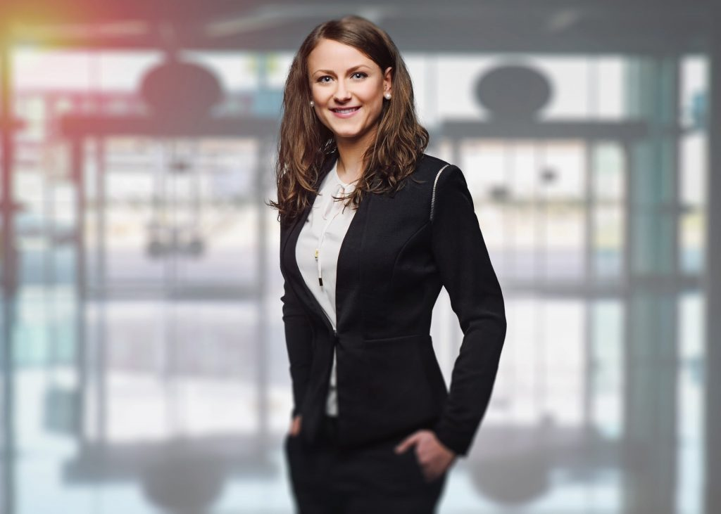 woman business suit